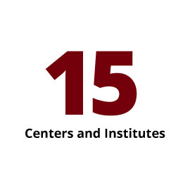 Infographic: 15 Centers and Institutes