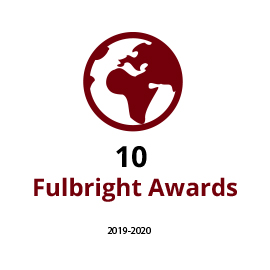 a top producer of us fulbright students