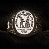 UofSC ring with official University Seal